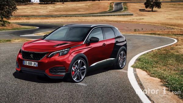 Peugeot планирует выпустить «заряженный» Peugeot 3008
