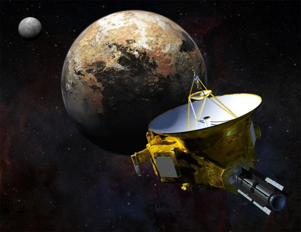Астрономы: Плутон временами греется именяет своё состояние