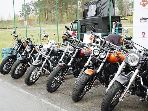 На русском рынке на38% упали продажи мотоциклов