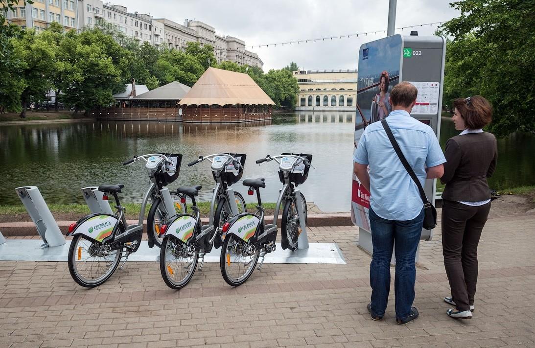 В столице закончился сезон велопроката