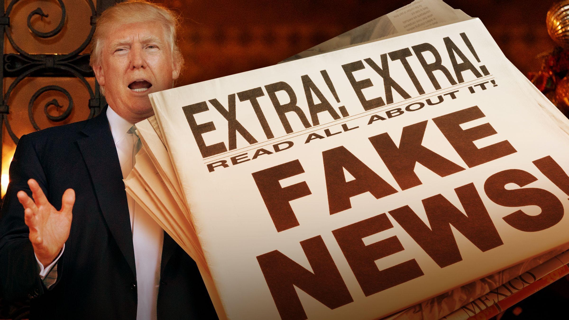 Словарь Collins назвал британское высказывание Fake news словом года