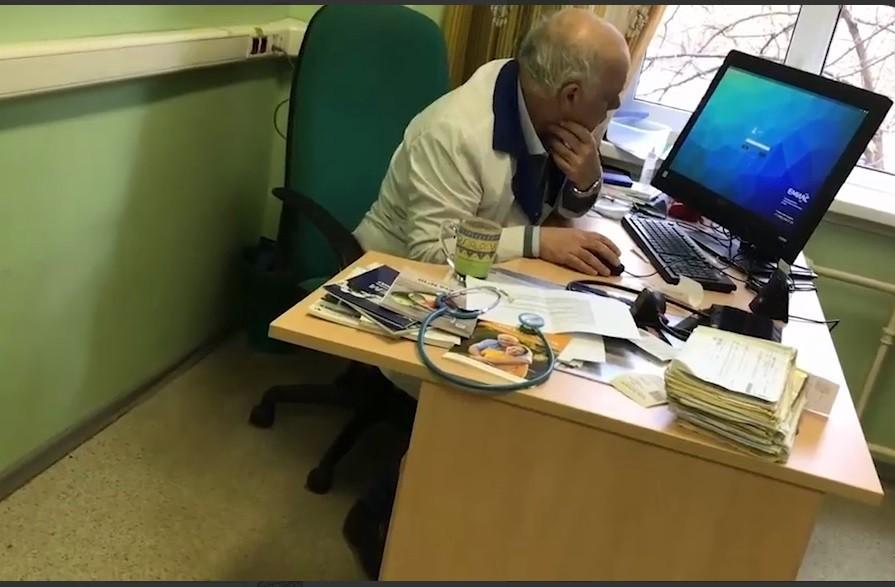 Больной заснял нетрезвого встельку кардиолога столичной клиники