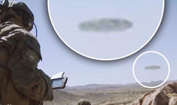 Морпехи США засняли корабль пришельцев вАризоне
