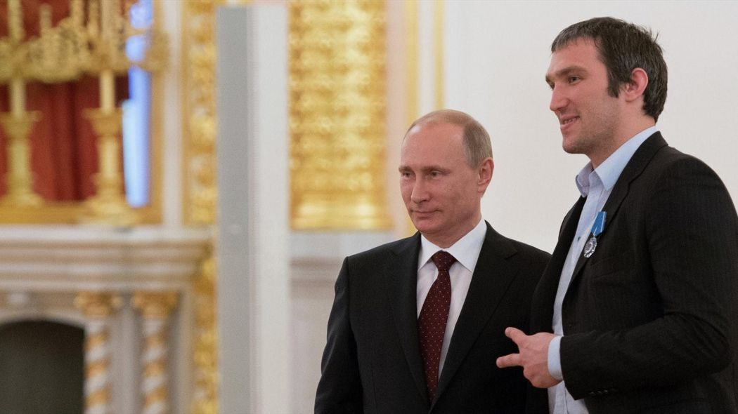 Александр Овечкин объявил осоздании общественного движения Putin Team
