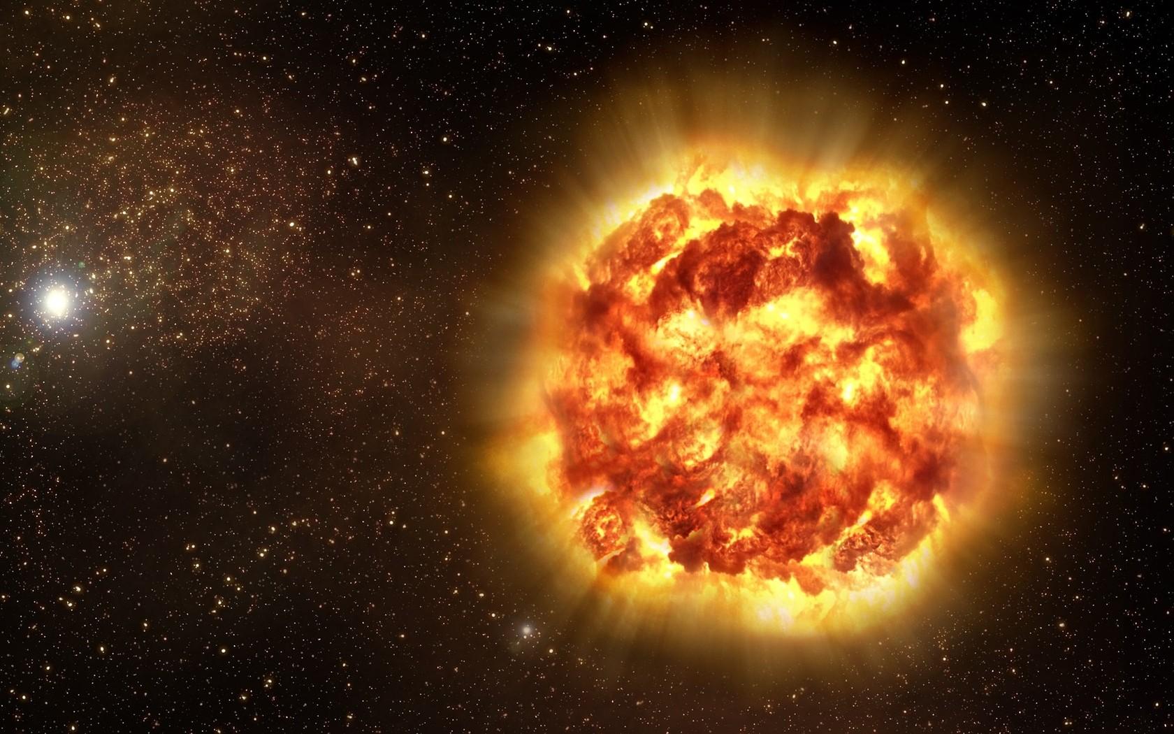 Взрыв 2-х нейронных звезд мог погубить население Земли