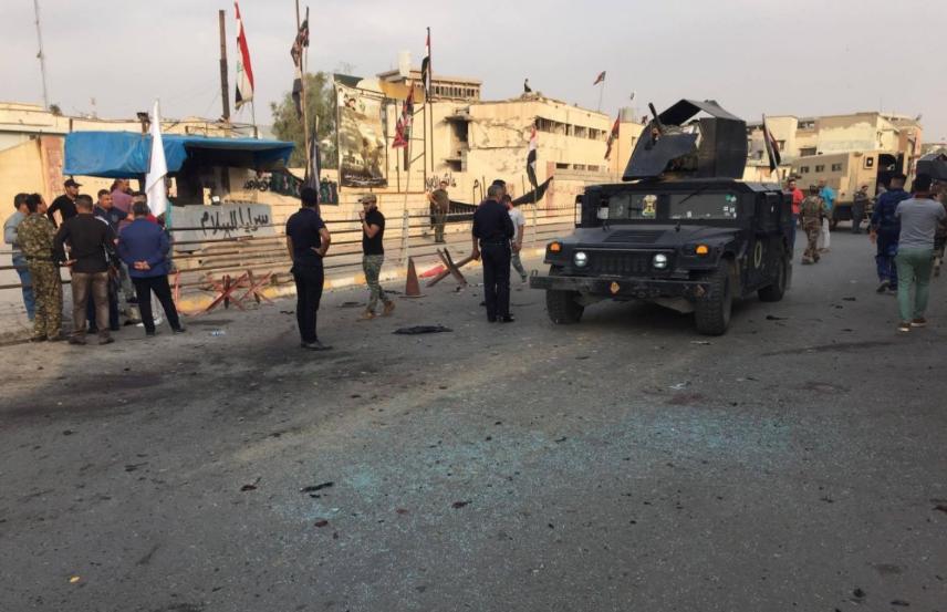 При взрывах виракском Киркуке погибли два человека
