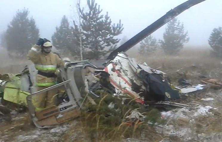 Следственный комитет возбудил уголовное дело после крушения вертолета вТатарстане