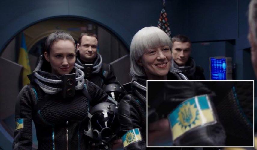 Люк Бессон вновом кинофильме отправил украинцев вкосмос