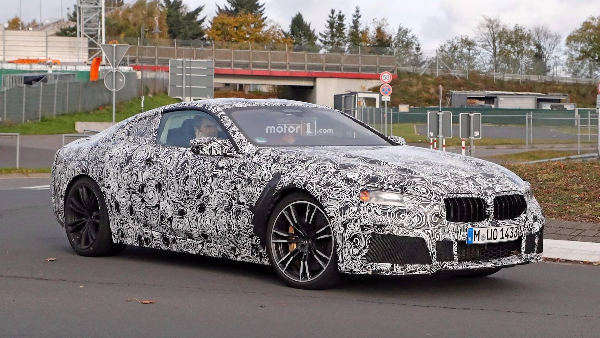 Серийное купе BMW 8 Series проходит тесты вНюрбургринге class=
