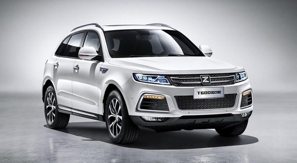 Китайский вседорожник T600 Coupe отZotye приедет в Россию