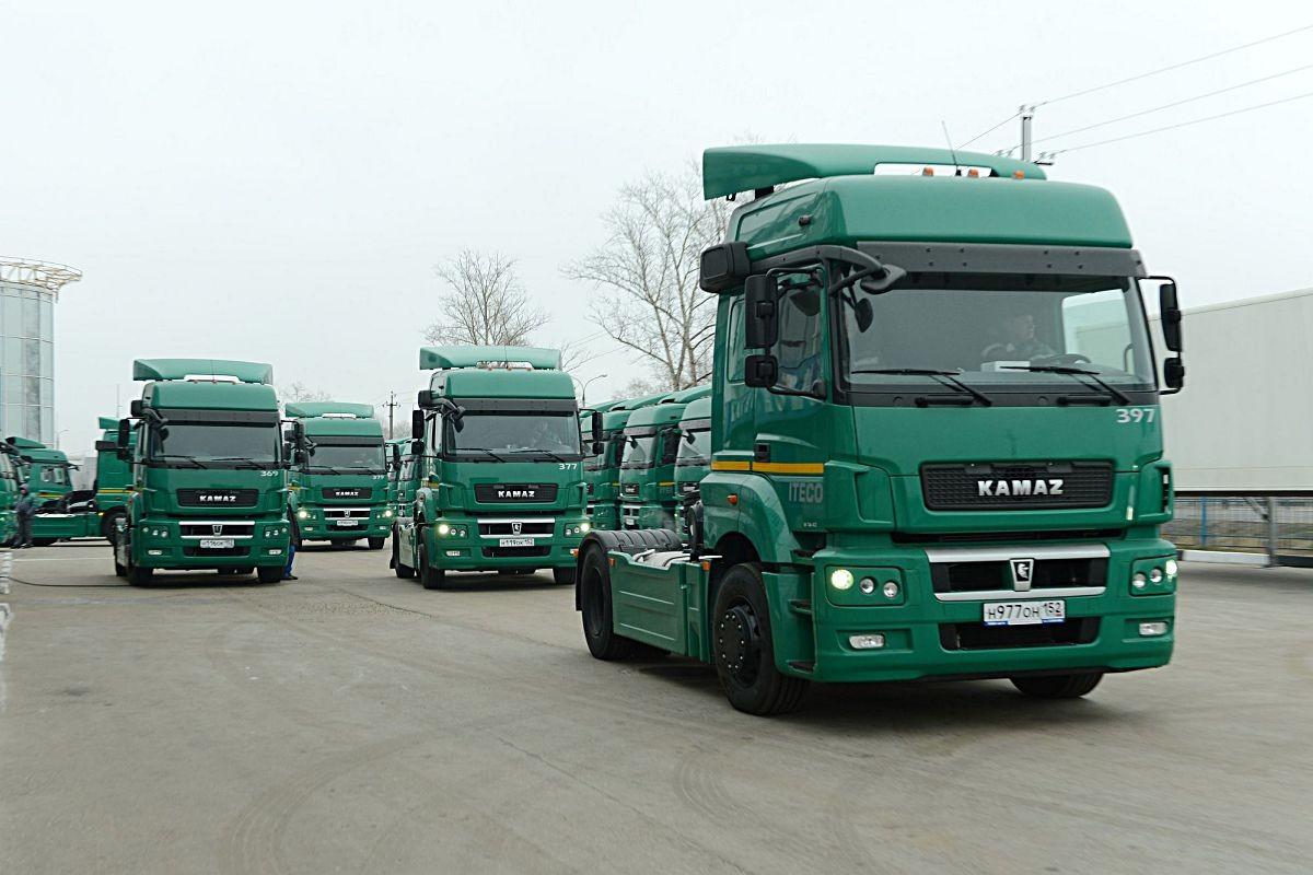 Продажи ПАО «КАМАЗ» в РФ увеличились на22%