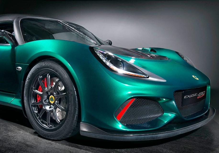 Компания Лотус представила 430-сильное купе Exige