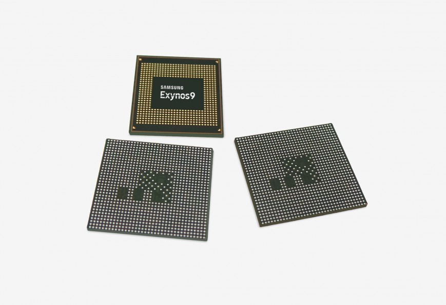 Самсунг  анонсировала процессор для Galaxy S9