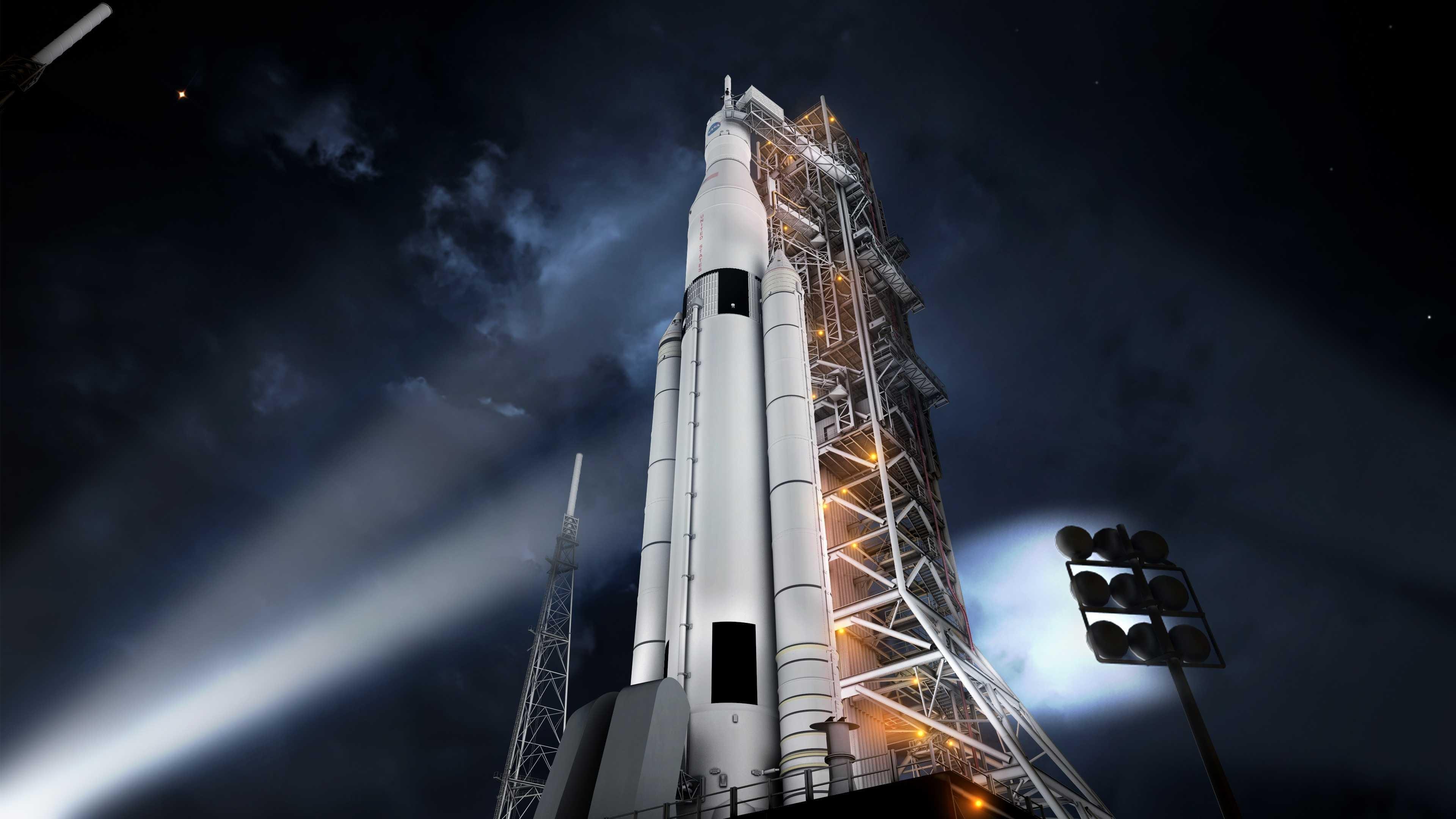 nasa rocket launches - HD2560×1600