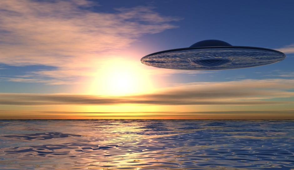 ВМФ США обнаружили гигантский НЛО в Тихом океане