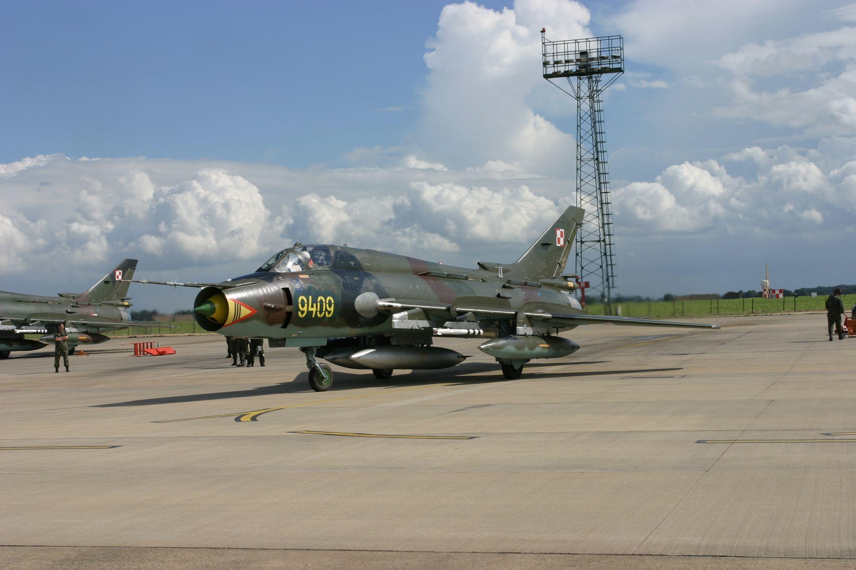 ВИране разбился истребитель Су-22