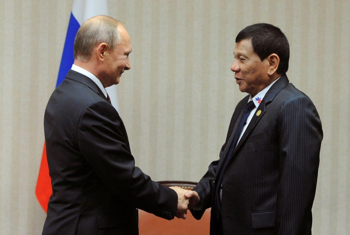 Филиппины могут подписать сРФ соглашение поатому— пресс-секретарь Дутерте