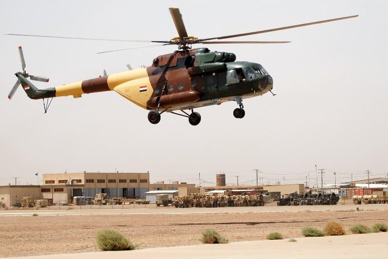 Вертолет разбился вИраке, есть погибшие