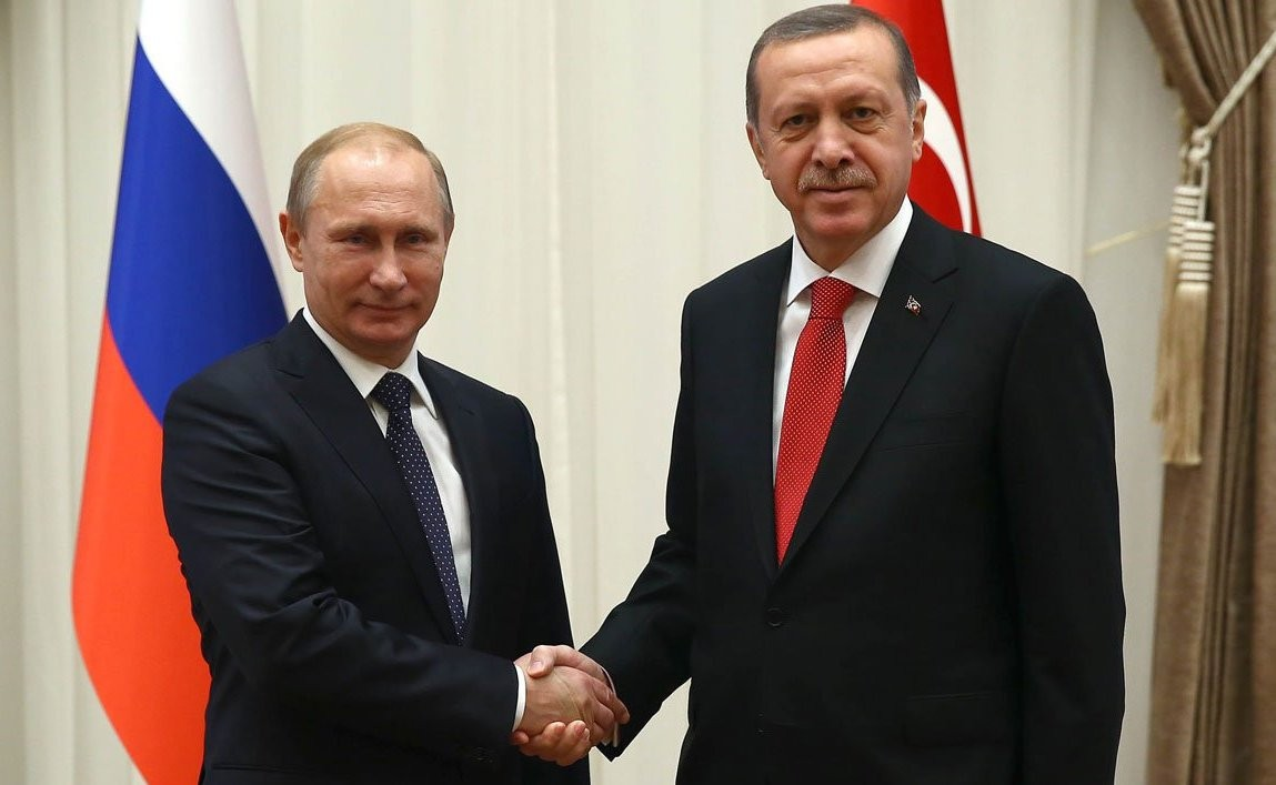 Путин принял президента Турции всочинской резиденции
