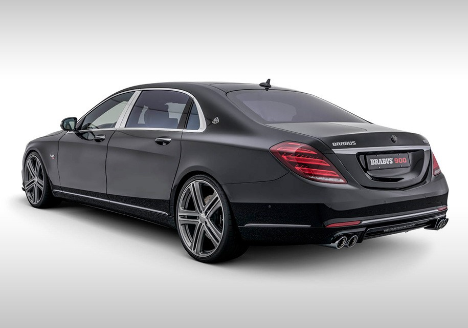 Brabus превратил Mercedes-Maybach в 900-сильный седан