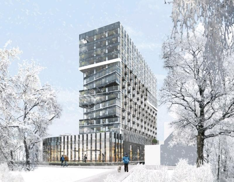 ВДаниловском районе построят апарт-отель