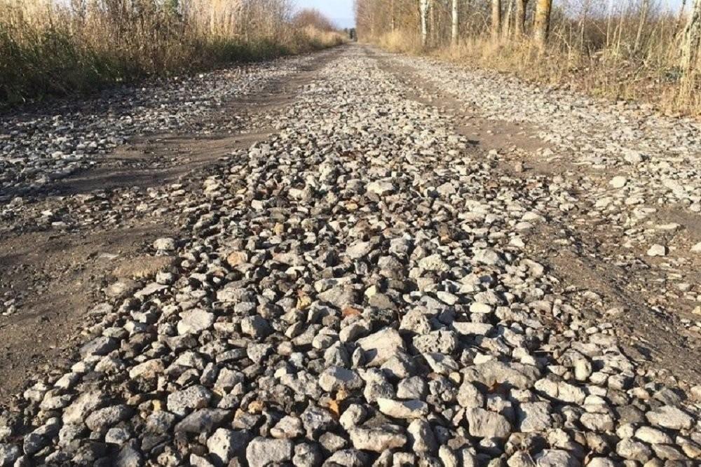 Неизвестные построили дорогу изстроительных отходов навостоке Подмосковья