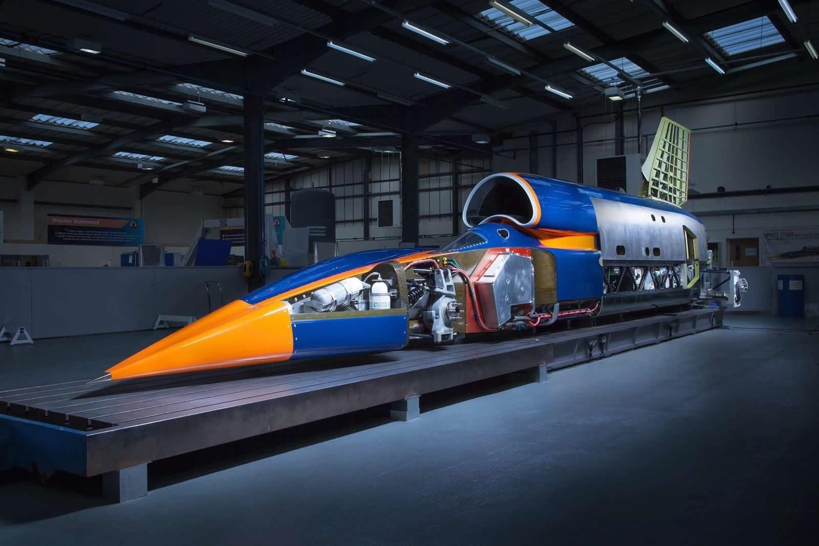 ВНорвегии разработали автомобиль, разгоняющийся до1600 км/ч