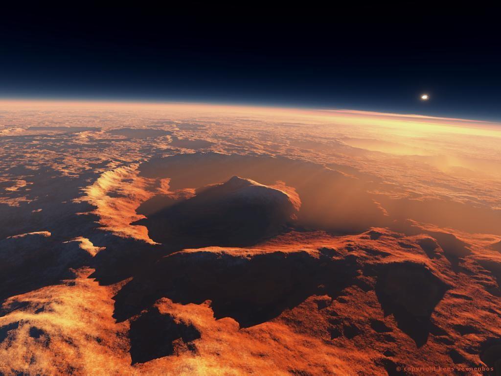 Уфологи обнаружили наМарсе трубкообразный обломок НЛО