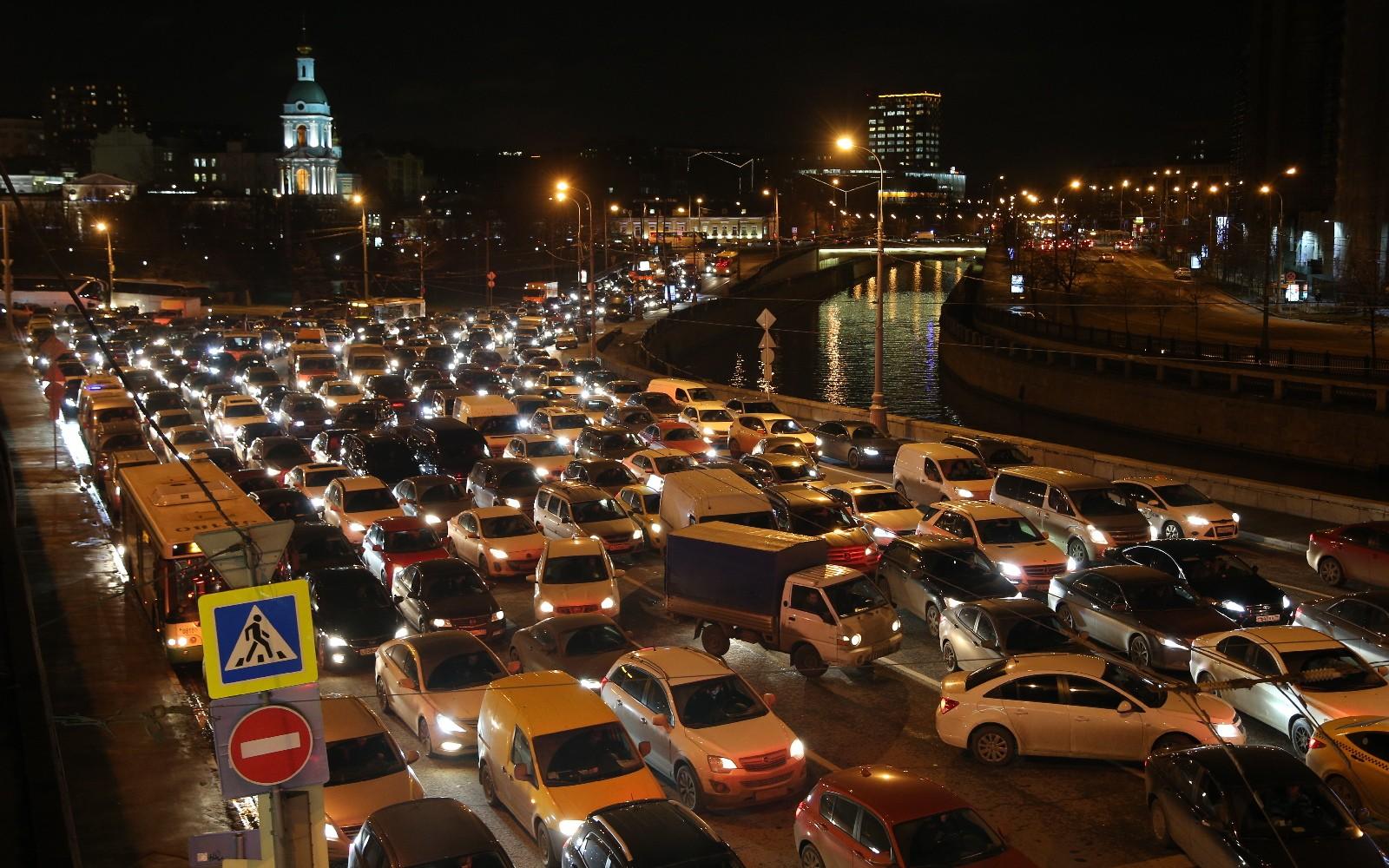 Девятибалльные пробки ожидаются в столице России