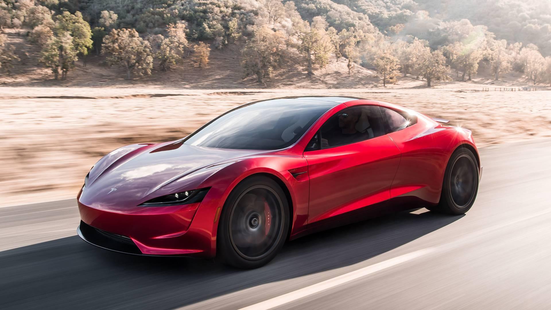 Таковых быстрых серийных авто планета еще невидела— Новый Tesla Roadster