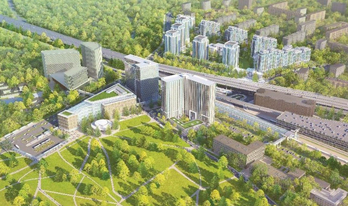 В российской столице появится роскошный апарт-отель всоставе ТПУ «Ботанический сад»
