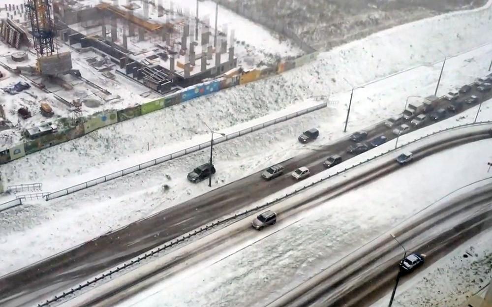 НаПриморье надвигаются снегопады сметелью