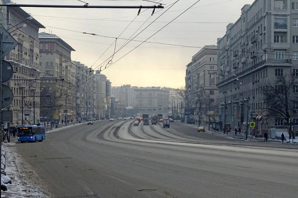 ЦОДД разъяснил отсутствие обычных пятничных пробок в столице