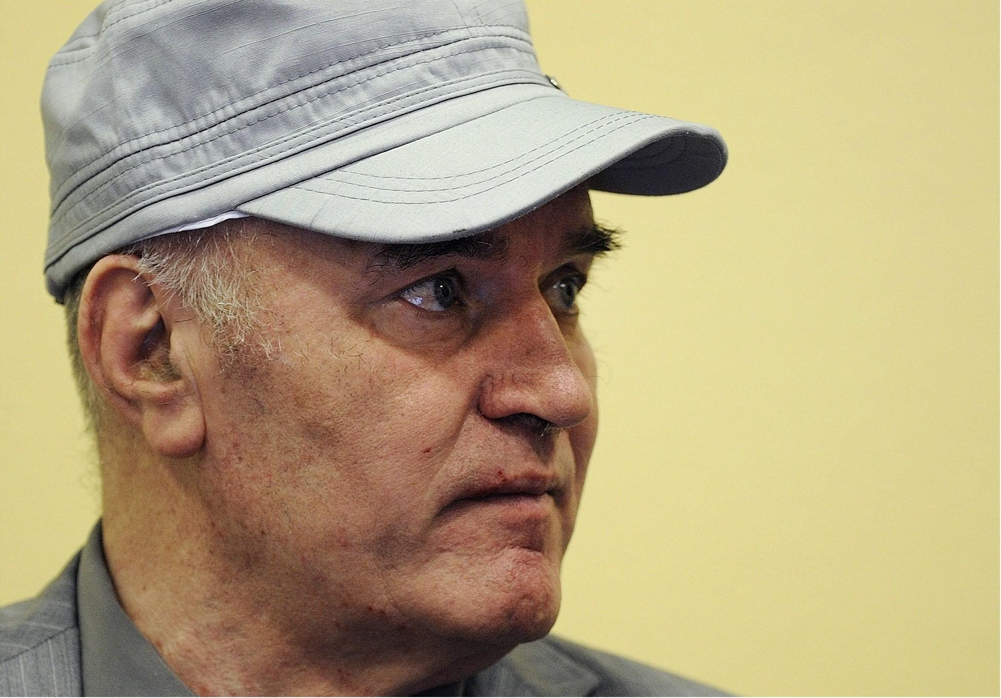 Участие генерала Младича всуде под вопросом из-за его здоровья, объявил сын