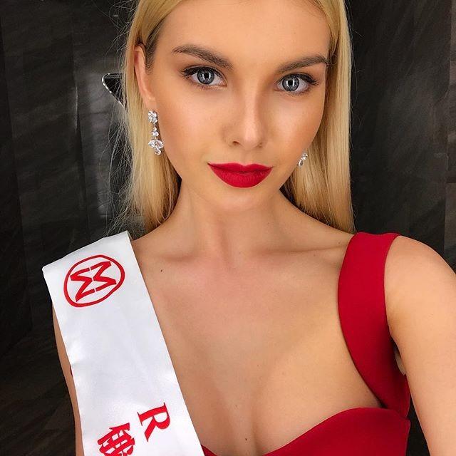 Екатеринбурженка Полина Попова вошла в 10-ку самых красивых девушек планеты