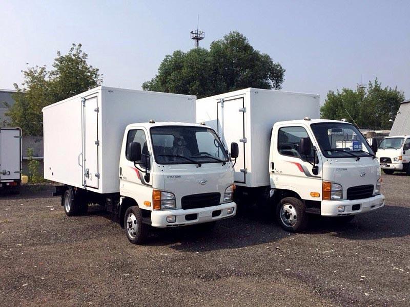 В России стартовали продажи грузовика Hyundai HD35 City