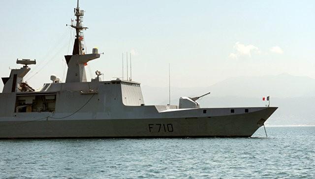 ВЧерном море увидели французский «фрегат-невидимку»