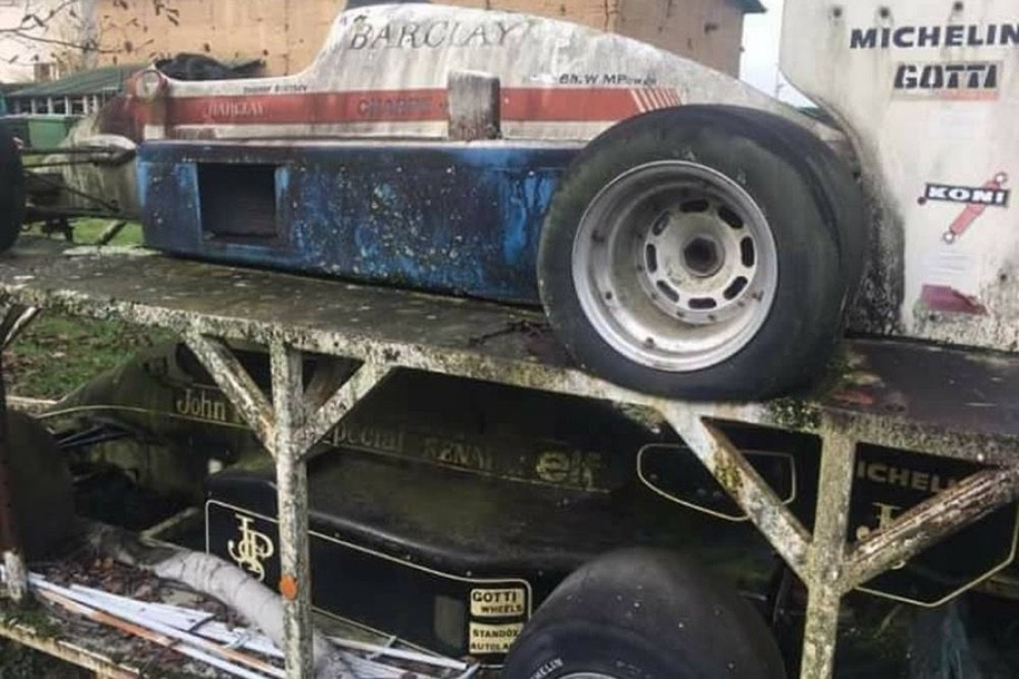ВоФранции найдено «кладбище» болидов «Формулы-1»