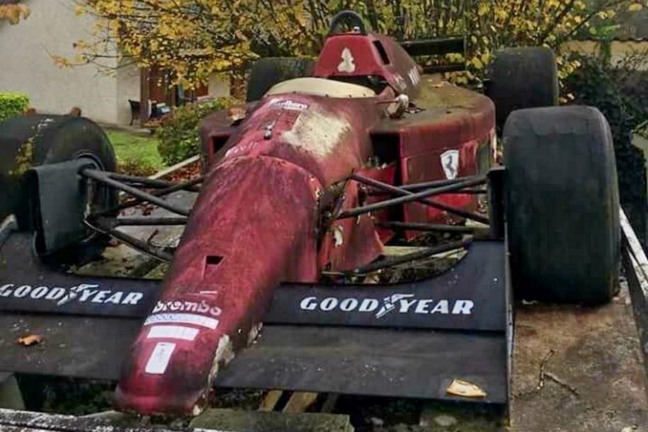 ВоФранции отыскали заброшенную коллекцию болидов «Формулы-1»