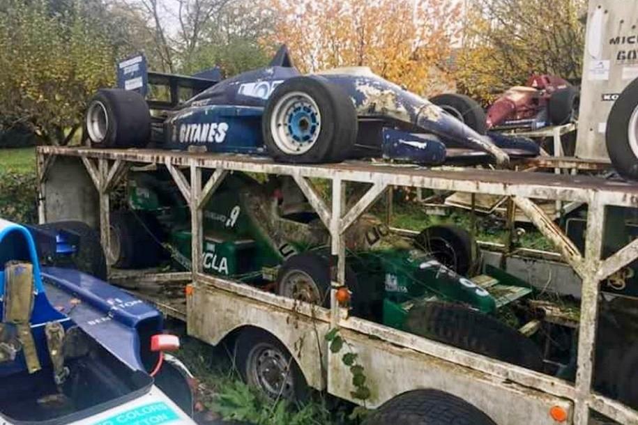Кладбище болидов Формулы-1 обнаружили воФранции