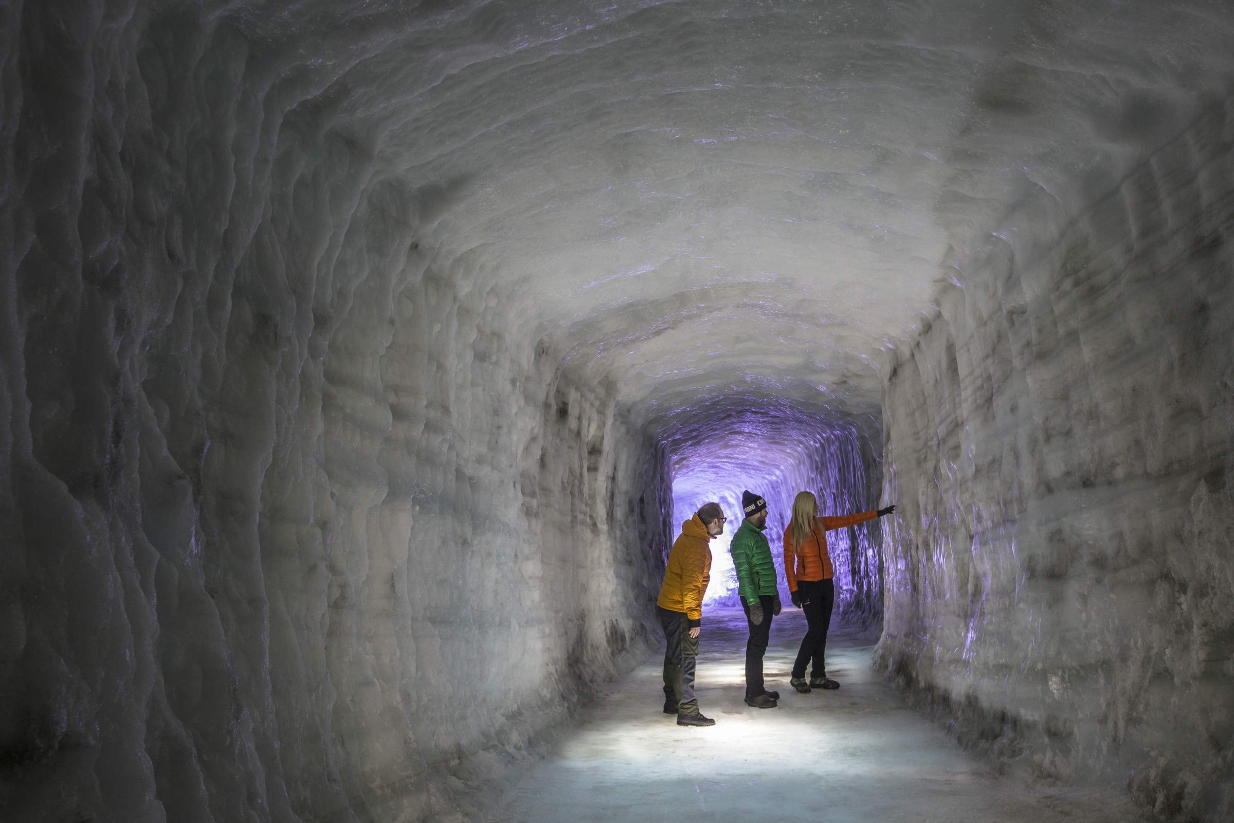 «Ледяную пещеру» впарке «Зарядье» откроют доконца года