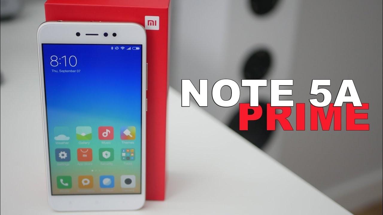 Стартовали русские продажи Xiaomi Redmi Note 5A Prime