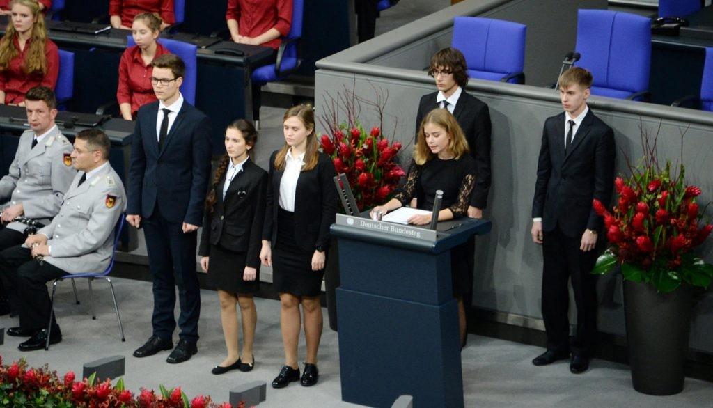 ВГермании прокомментировали выступление русского школьника вБундестаге