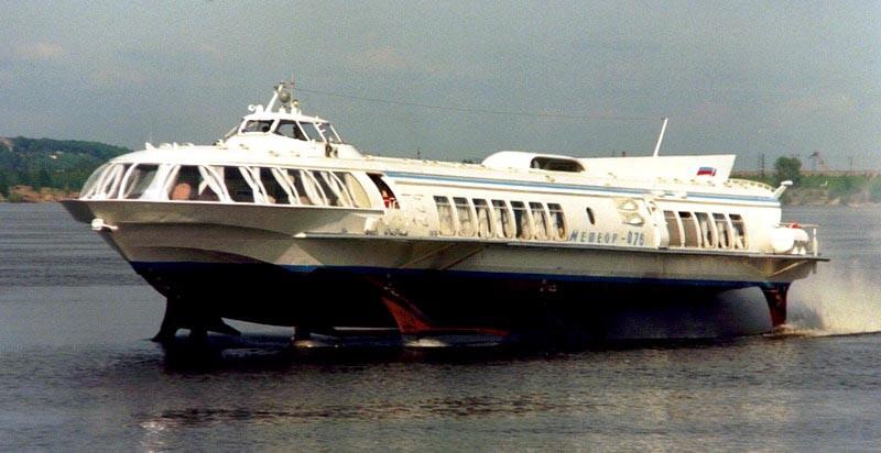 ВКрыму восстановят производство пассажирских судов наподводных крыльях