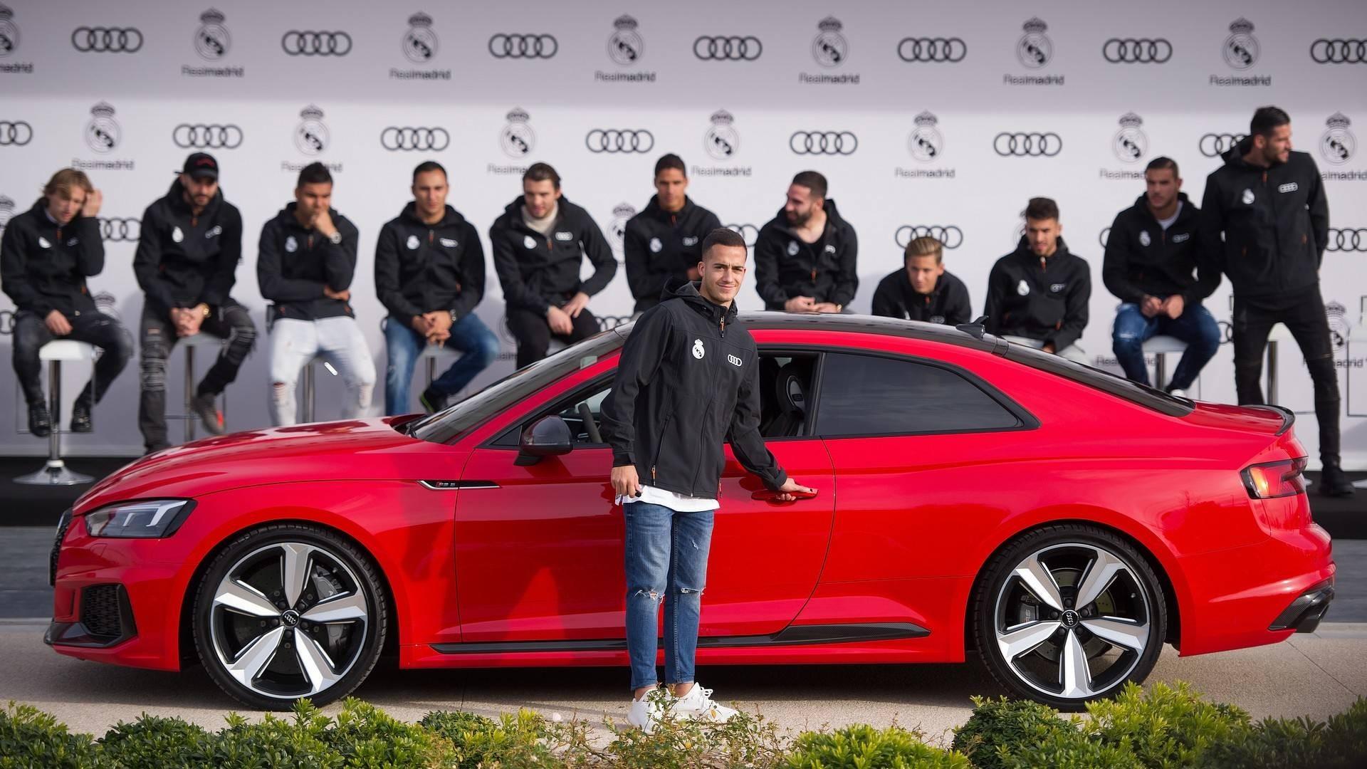Игрокам Реала обновили автомобильный парк: Рамосу досталось авто дороже, чем Роналду