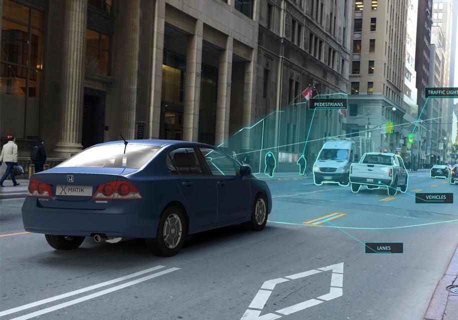Система LaneCruise позволит сделать любой автомобиль беспилотным