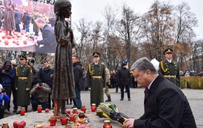 Порошенко объявил, что голодомор— геноцид украинского народа