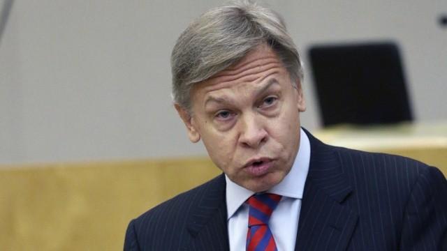 Пушков ответил наидею Порошенко обответственности заотрицание голодомора