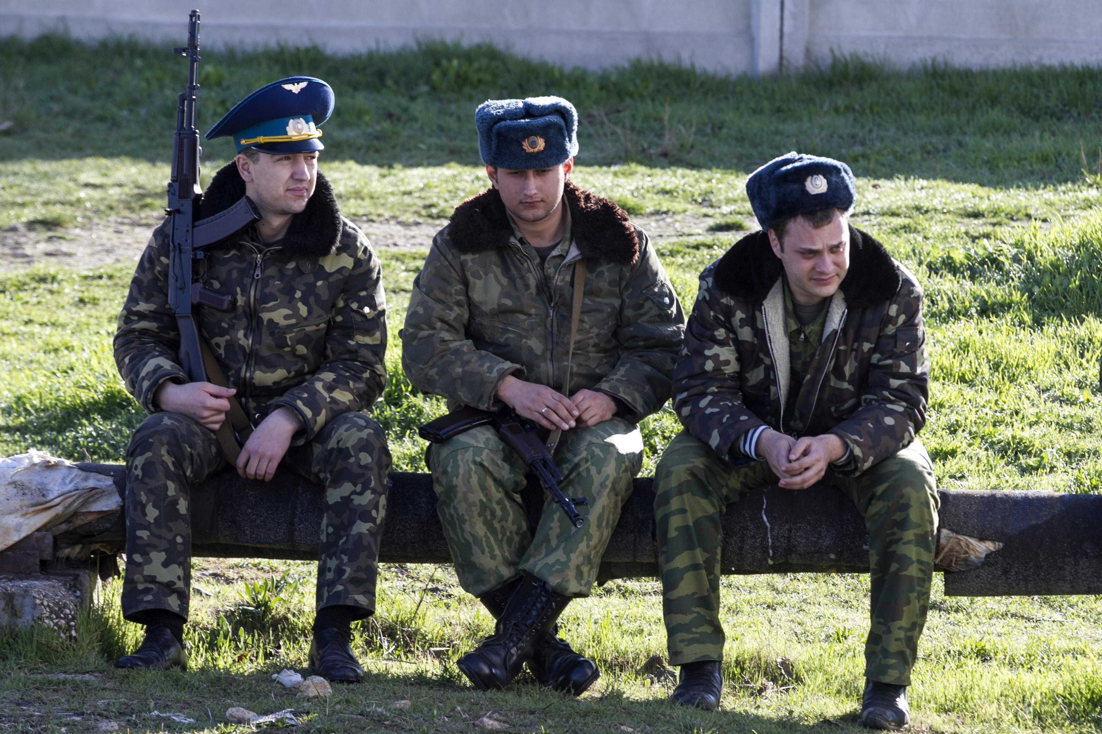 Бывшие военнослужащие Украины получают регистрацию вСевастополе