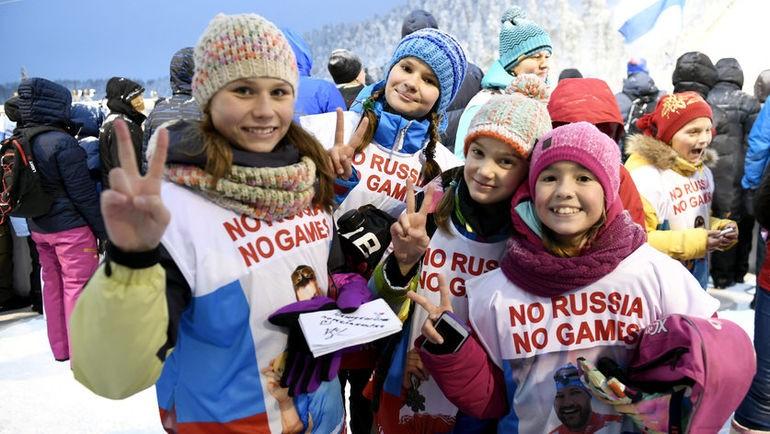 Школьник запустил всети флешмоб вподдержку русских спортсменов